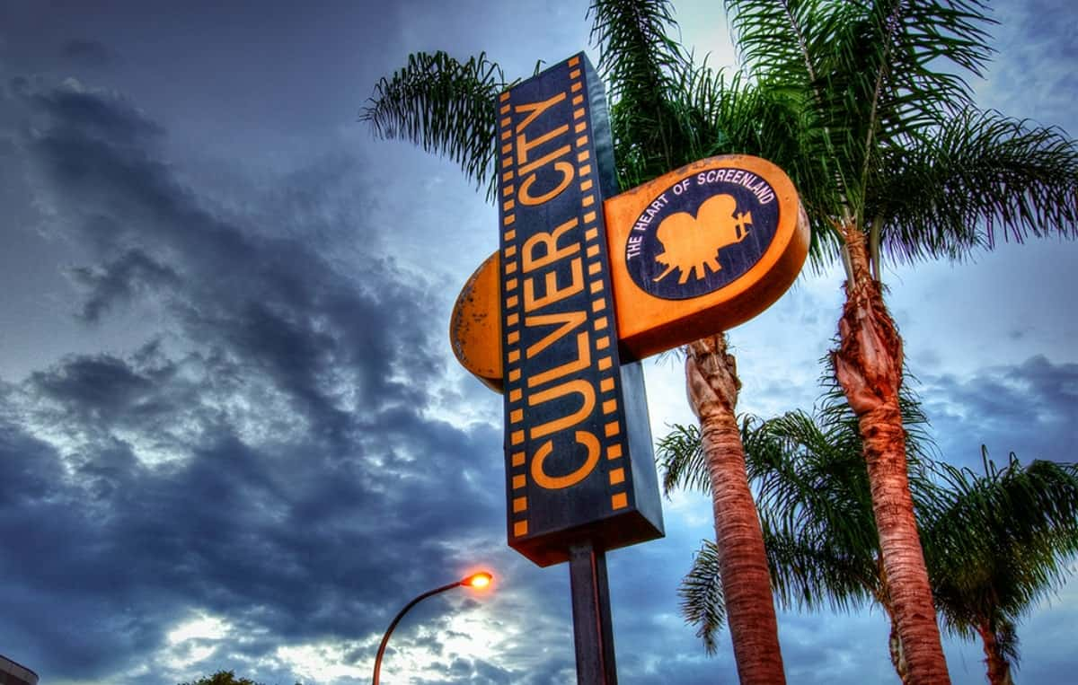 Culver City Sign near Ivy Station