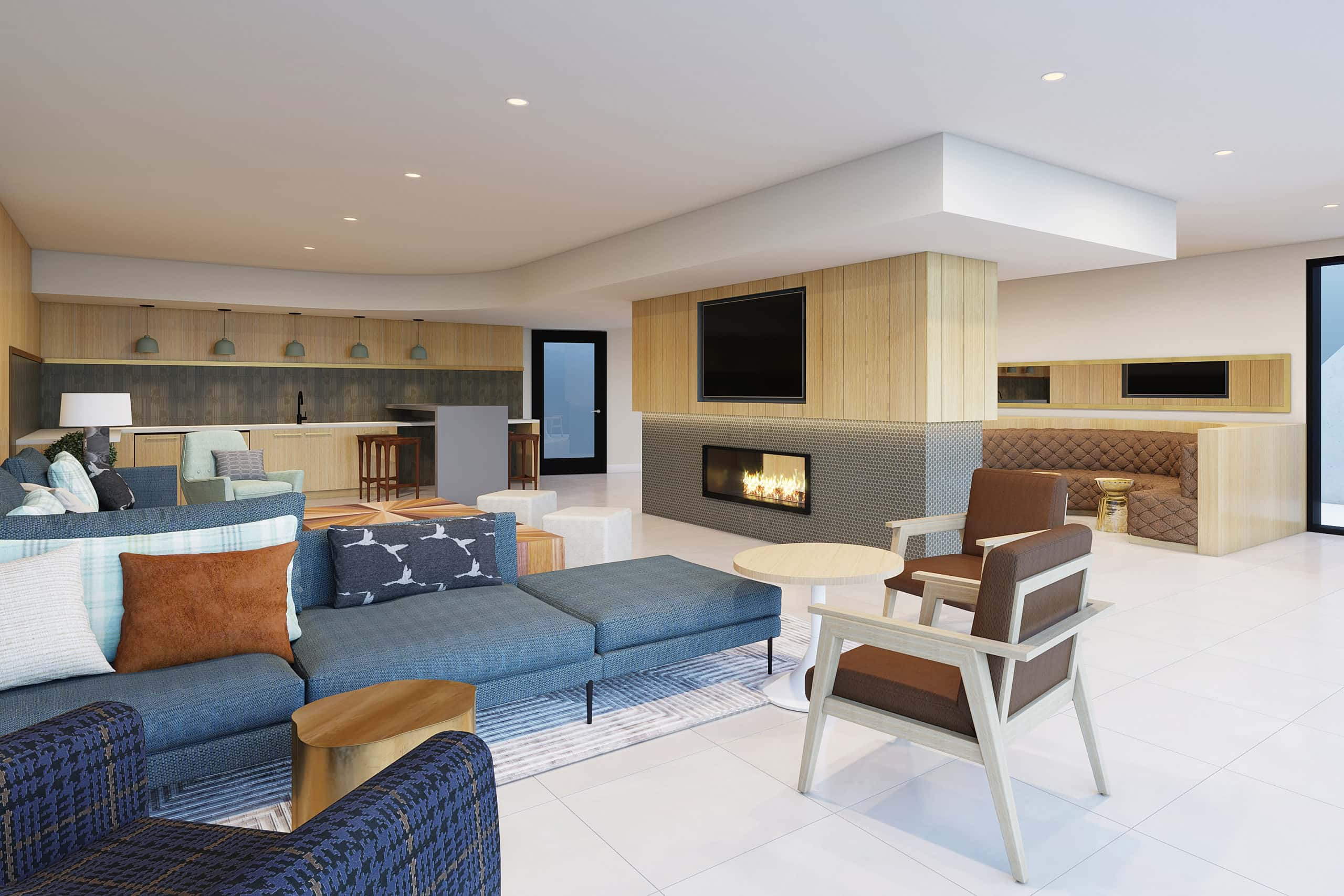 Upper Ivy Culver City Apartments - Residential Cabana